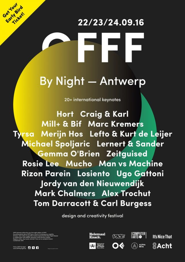 The updated line-up for @offfbynight…