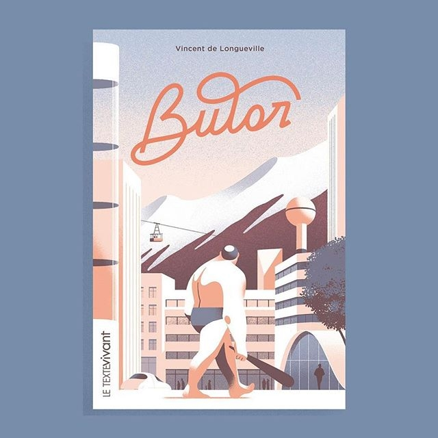 A beautiful book cover by @sebastienplassard for Butor, a story written by Vincent de Longueville and published by @publishroom_letextevivant #illustration #sebastienplassard
